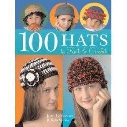Книга 100 Hats to Knit & Crochet