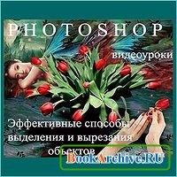 Книга Эффективные способы выделения и вырезания объектов в Photoshop (видеоуроки)
