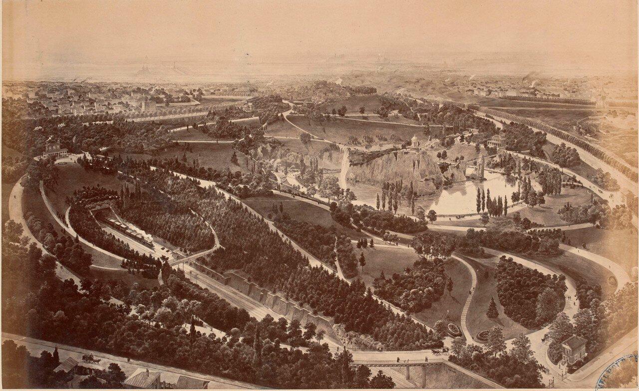 Вид на парк Бют-Шомон