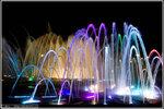 Царицыно ночью. Главный фонтан