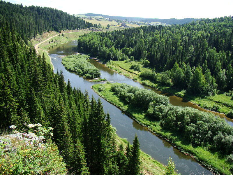 Долина реки Койва