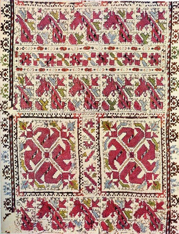 Армянские узоры вышивка 55