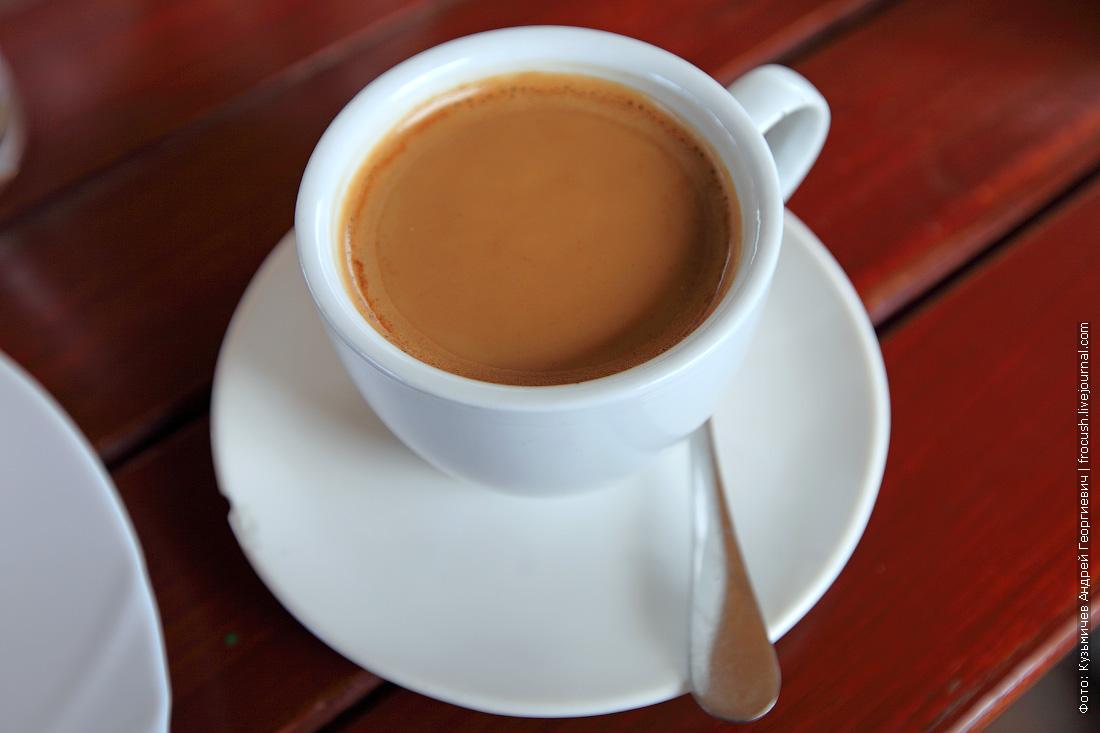 кофе в кафе Алие Крым