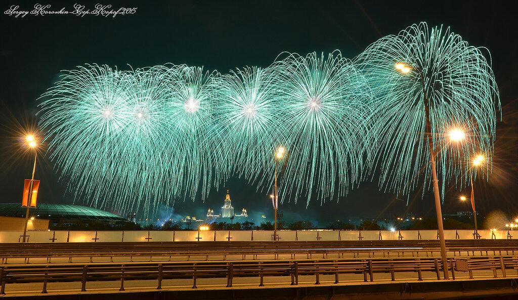 9 мая,День победы 2015,Воробьёвы горы №11