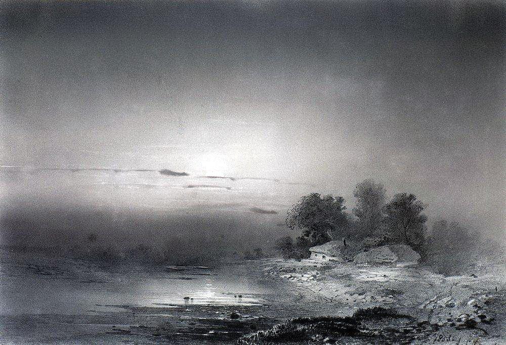 Лунная ночь. 1853.jpg