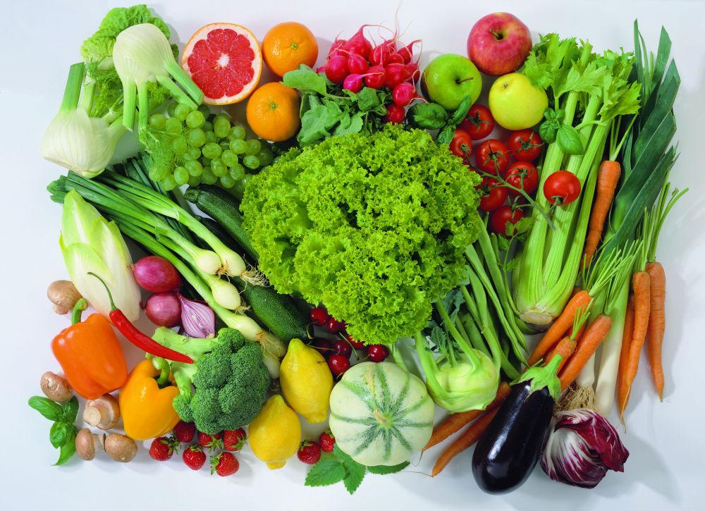 Овощи с полезной кожурой