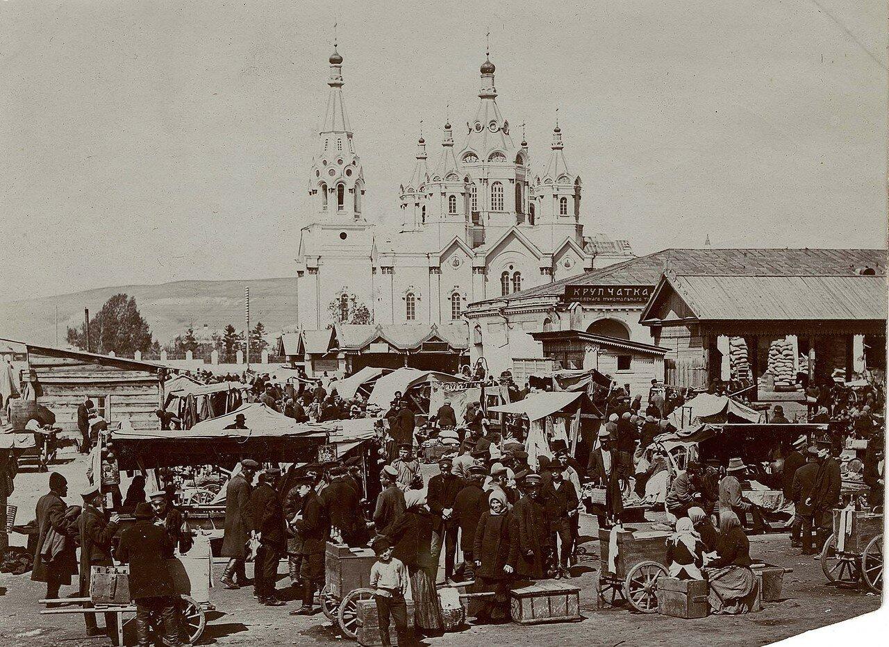 Базар.1910.