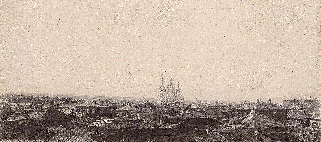 Панорама города в направлении на северо-запад. 1900