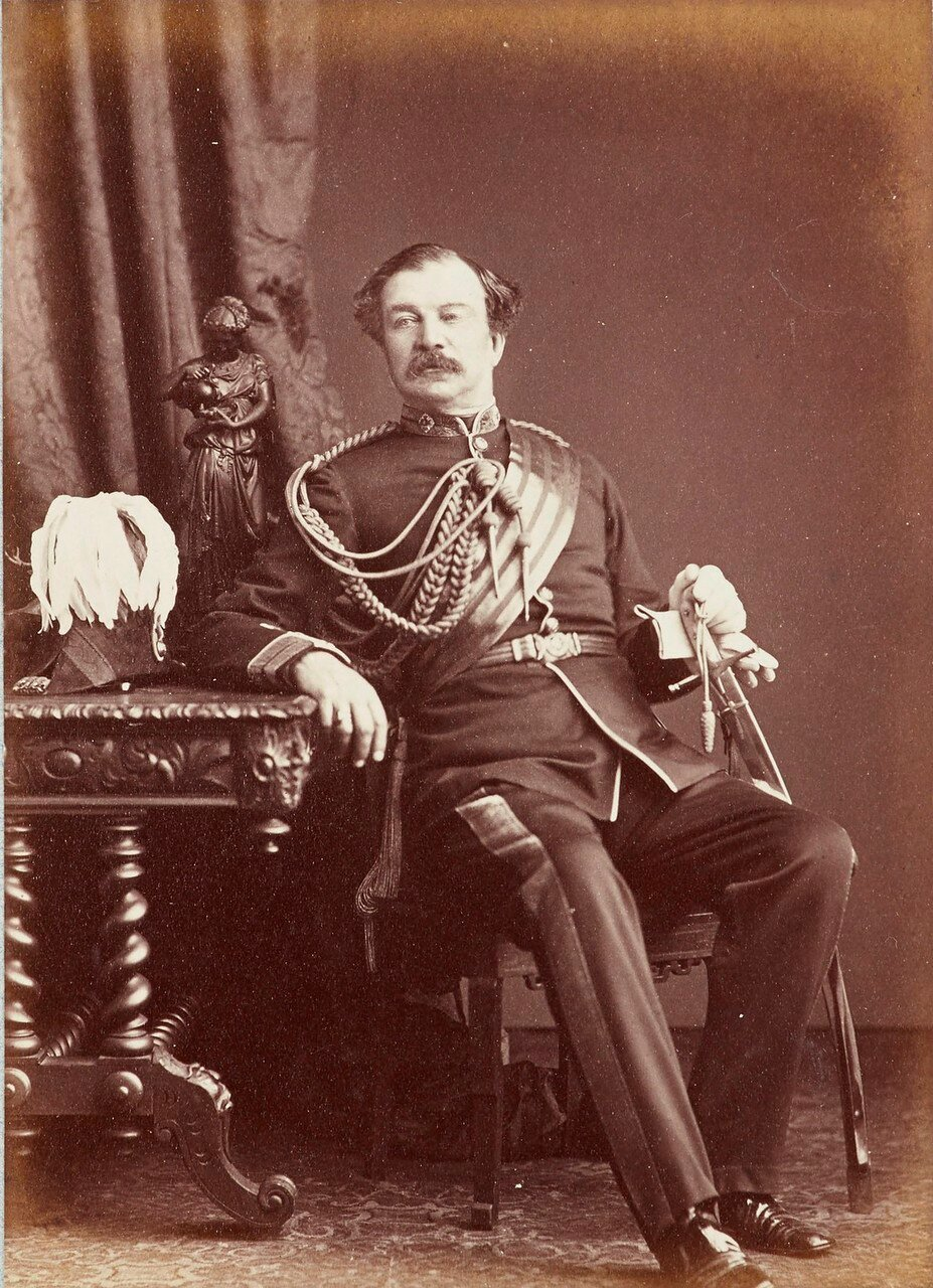 144. Генерал-лейтенант лорд Альфред Генри Пагет (1816-88)