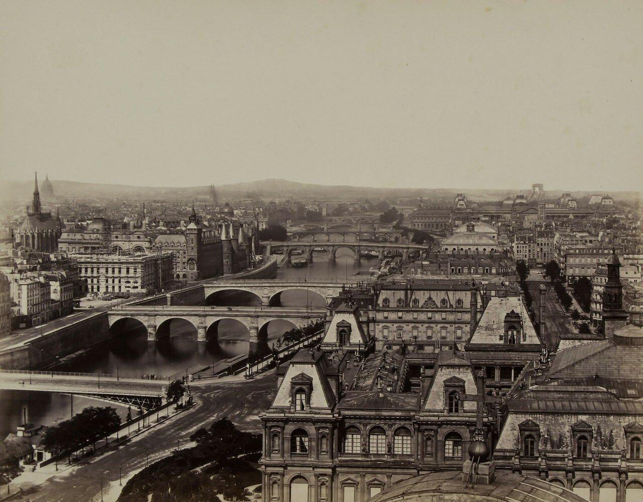 1865-е. Панорама Парижа