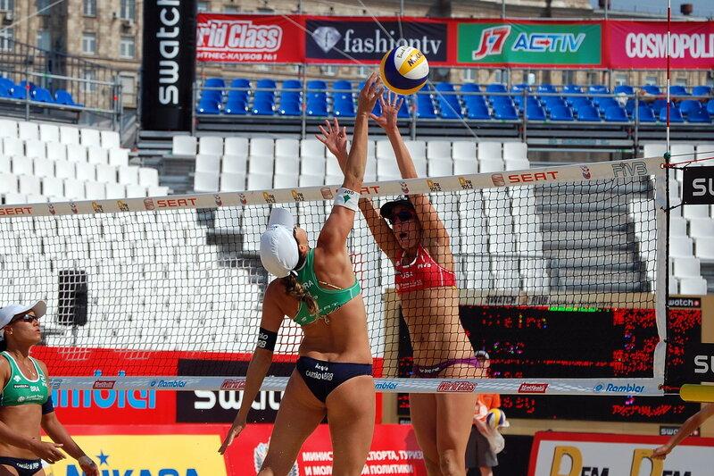 «Большой шлем» по пляжному волейболу