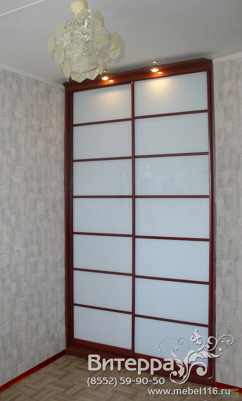 Встроенные шкафы-купе на заказ Набережные Челны от компании Студия Витерра в Набережных Челнах.