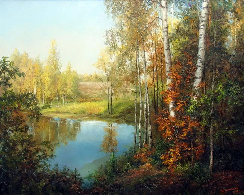 русский пейзаж живопись: