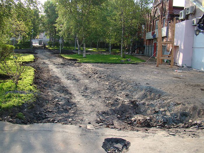 Гостевой маршрут для президента — ул. Пограничная 6«а»