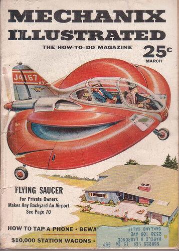 винтажные обложки журналов о будущем