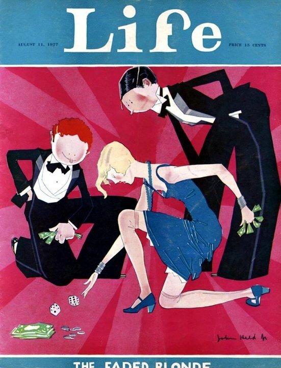 "иллюстрации журнала ""life"" John Held Jr"
