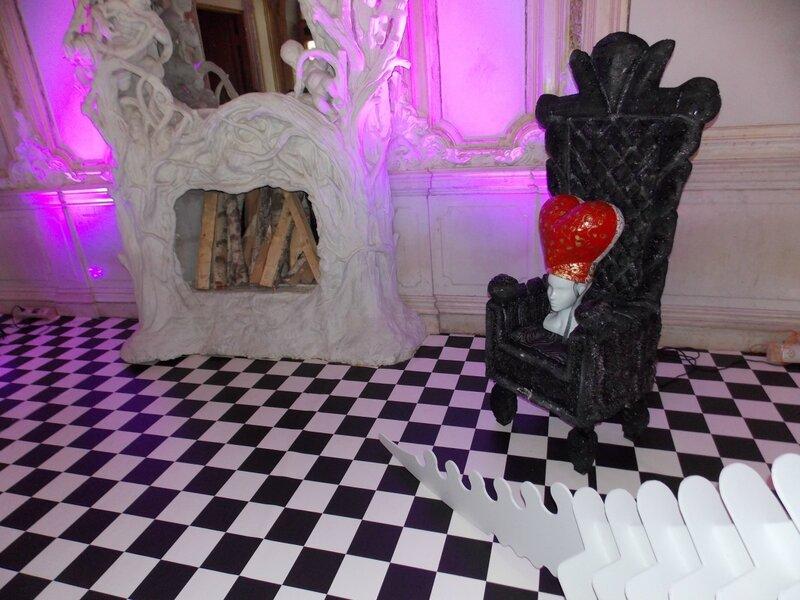 Камин в тронном зале