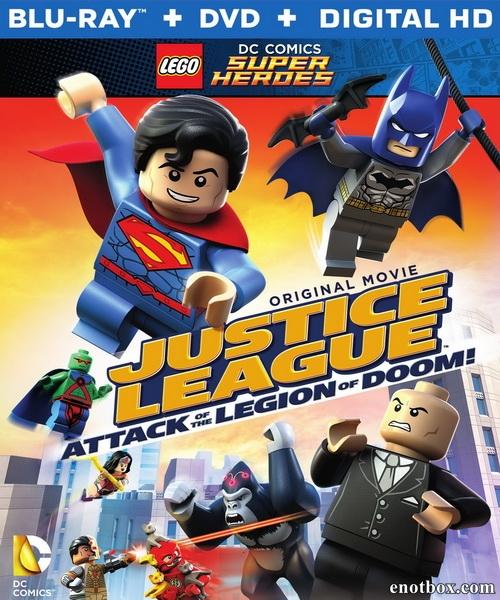 LEGO супергерои DC: Лига справедливости против легиона смерти / Lego DC Comics Super Heroes: Justice League: Attack of the Legion of Doom! (2015/BDRip/HDRip)