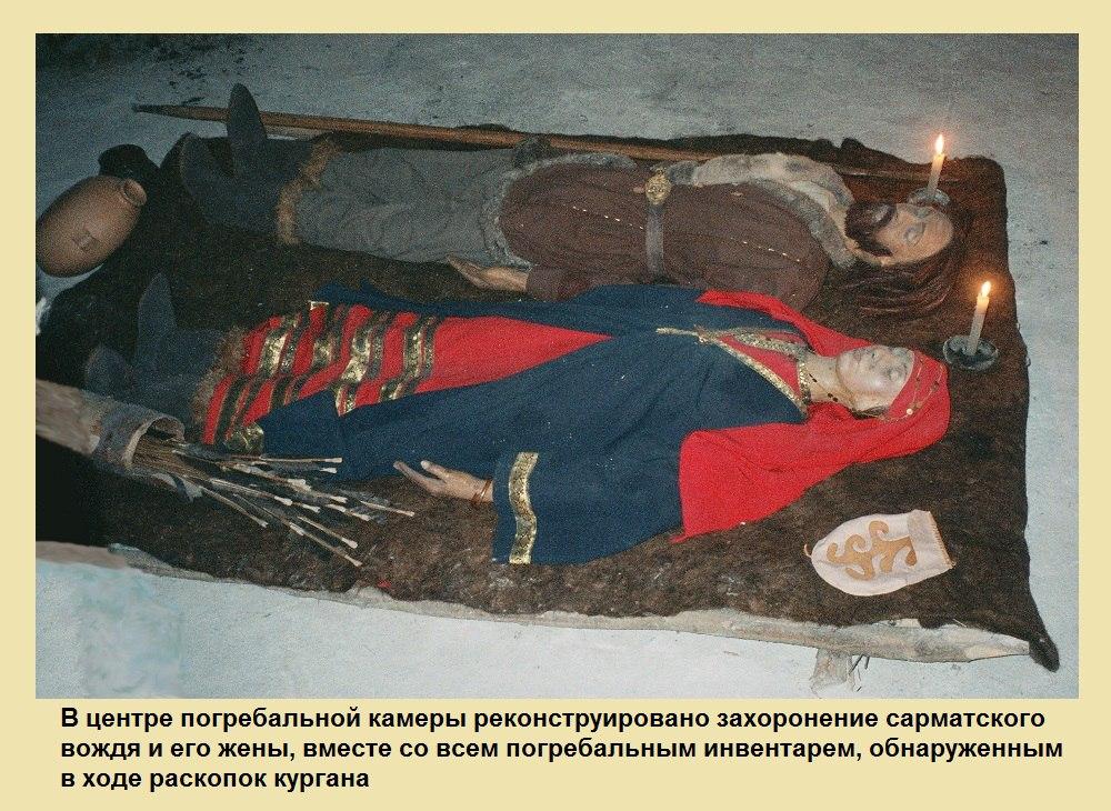 Реконструкция захоронений  (05.11.2015)