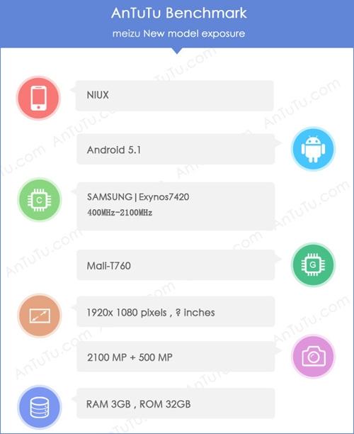 Meizu ME5: в«Поднебесной» сделали смартфон за 50 000 руб.
