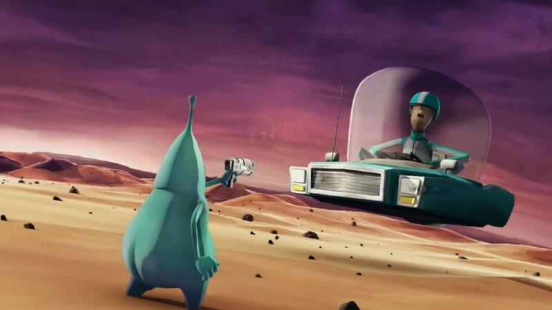 Где можно сделать пи пи в космосе? Короткометражный мультфильм
