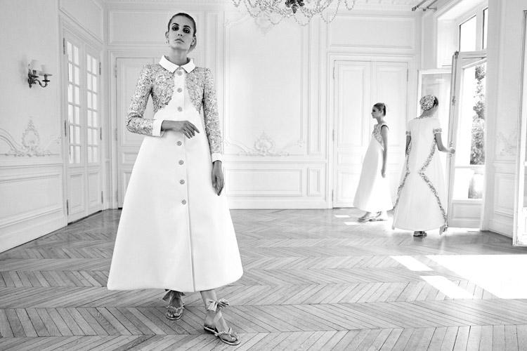 Надя Бендер (Nadja Bender) в журнале Vogue Italia (9 фото)