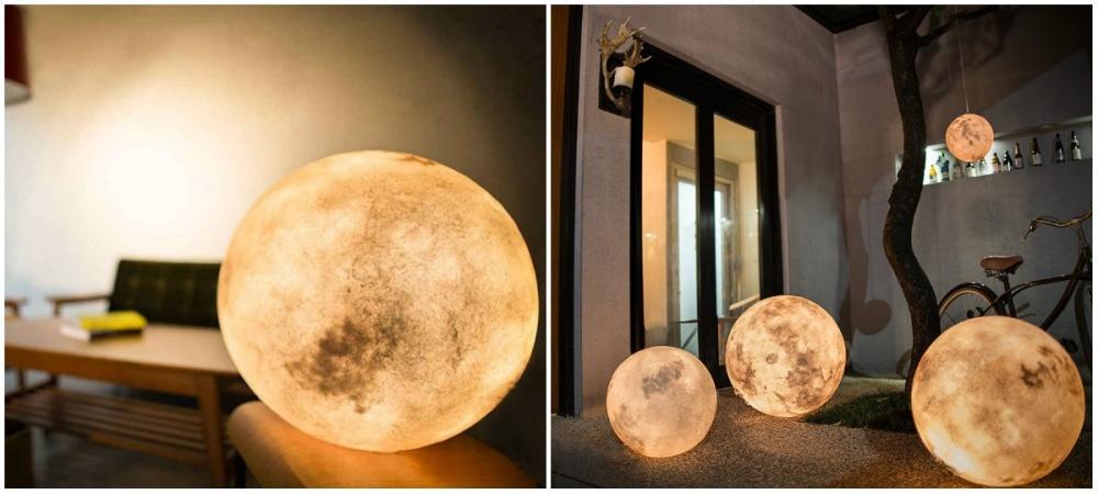 Невероятно реалистичную лампу ввиде луны оценят романтики, ведь теперь частичку космоса можно приют