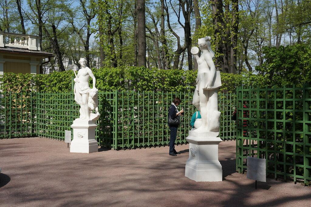 Скульптура Летнего сада. Фото 2012 года..JPG