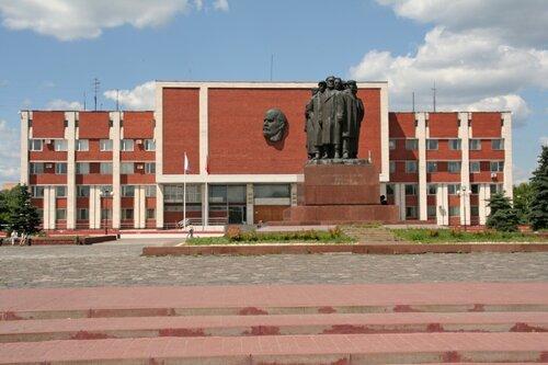 Орехово-Зуево. Октябрьская площадь.