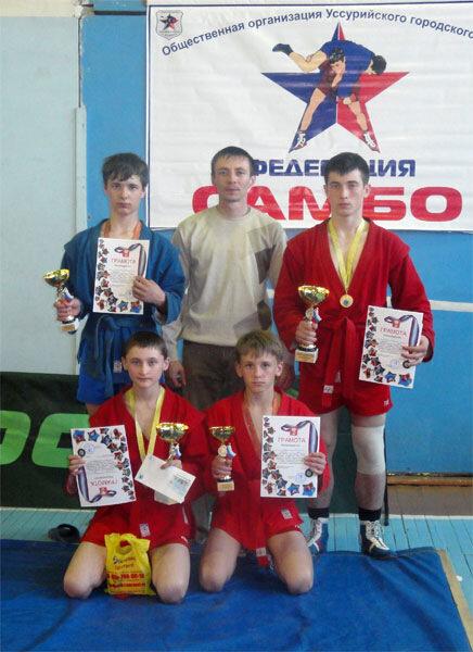 арсеньевские спортсмены - призёры турнира