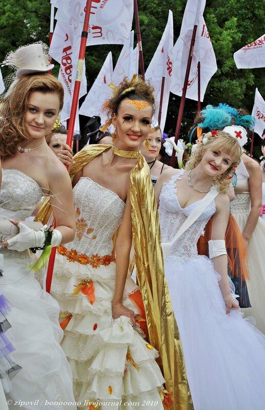 Парад Невест Москва 2010