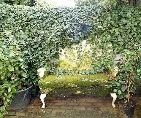 идеи скамейки в саду