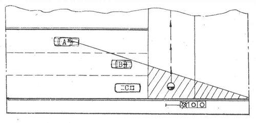 Схема ДТС в момент загорания