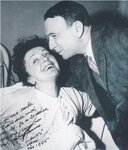 Edith Piaf et Henri Contet Эдит Пиаф и Анри Конте