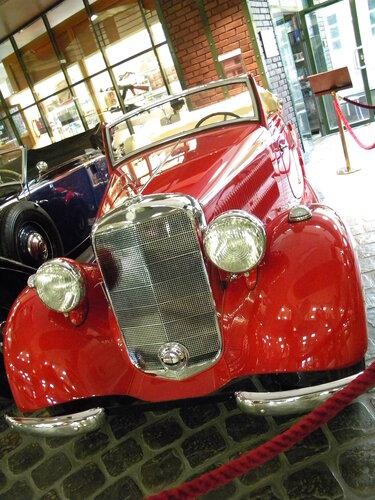 Mersedes-Benz 170V cabriolet A 1938 г.