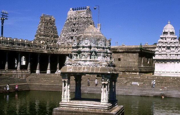 Священный город Канчипурам. Индия