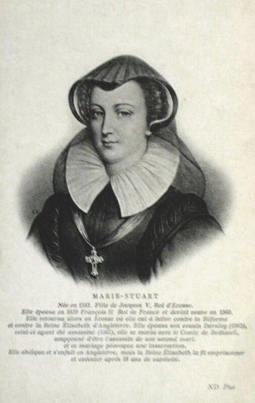Мария Стюарт. Франция, нач. XX века.