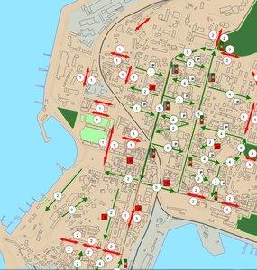 Утверждена схема одностороннего движения по улице Алеутской и Океанскому проспекту