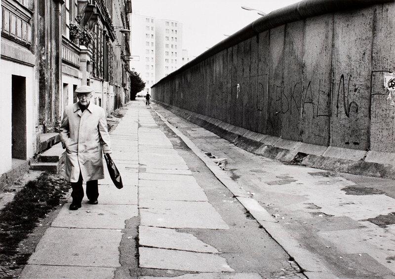 Alfred Eisenstaedt, Luckauerstrasse, West Berlin, September 1979