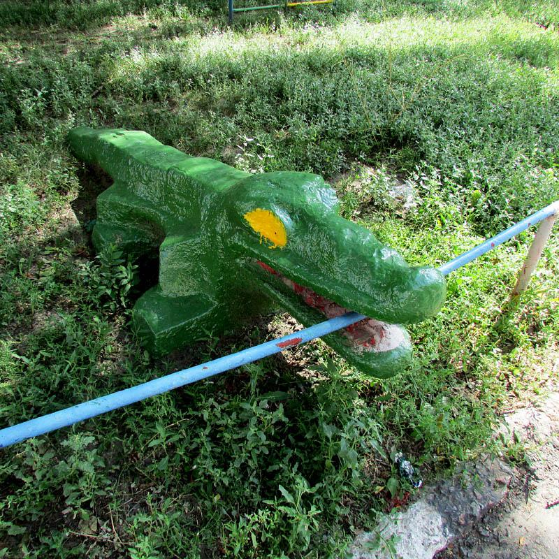 большие злые крокодилы