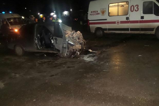 ВКирово-Чепецке случилось серьезное ДТП