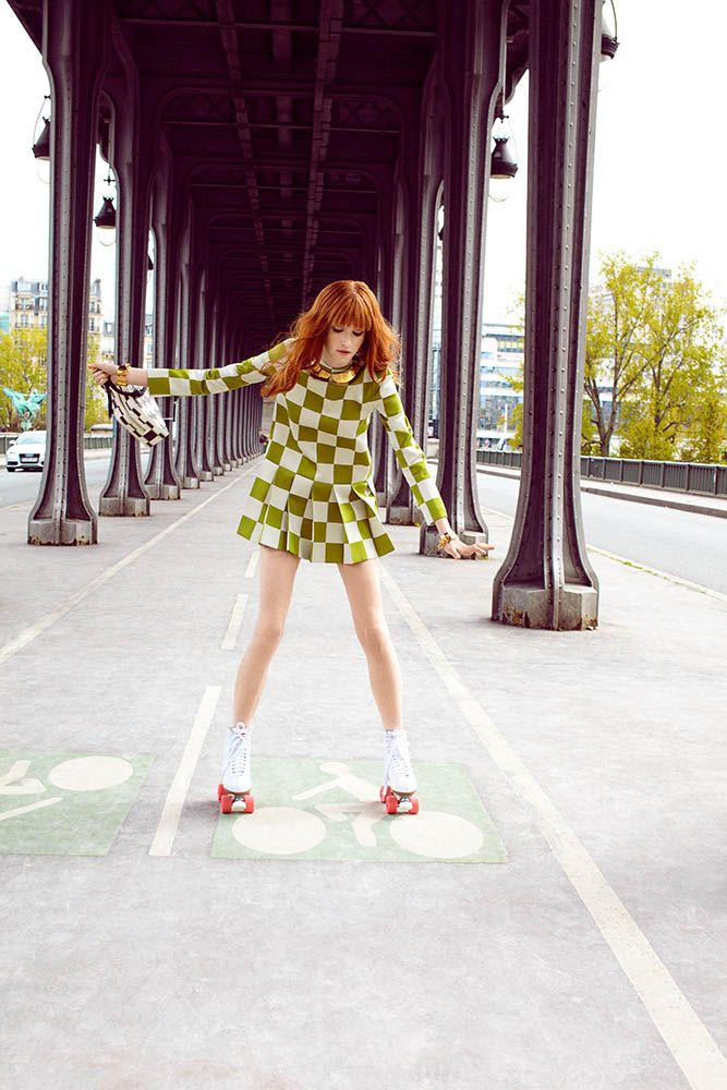 Магдалена Джасек для Elle Poland