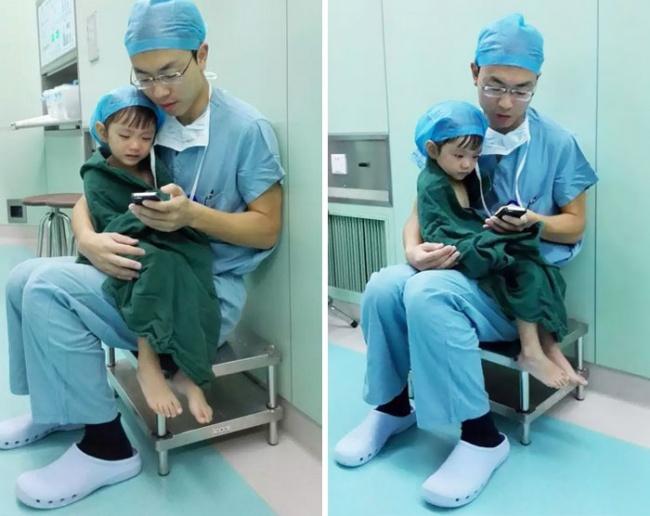 Маленькие дети пугаются операционной итого, что они остаются один наодин снезнакомой обстановкой