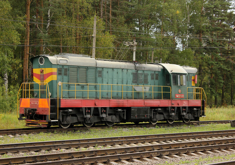 ЧМЭ3-1300 на станции Берендино