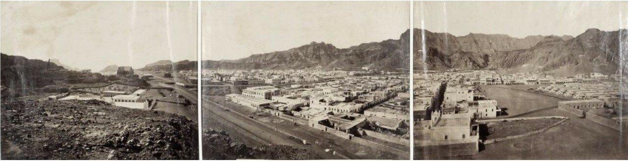 1875-1880. Панорама Адена
