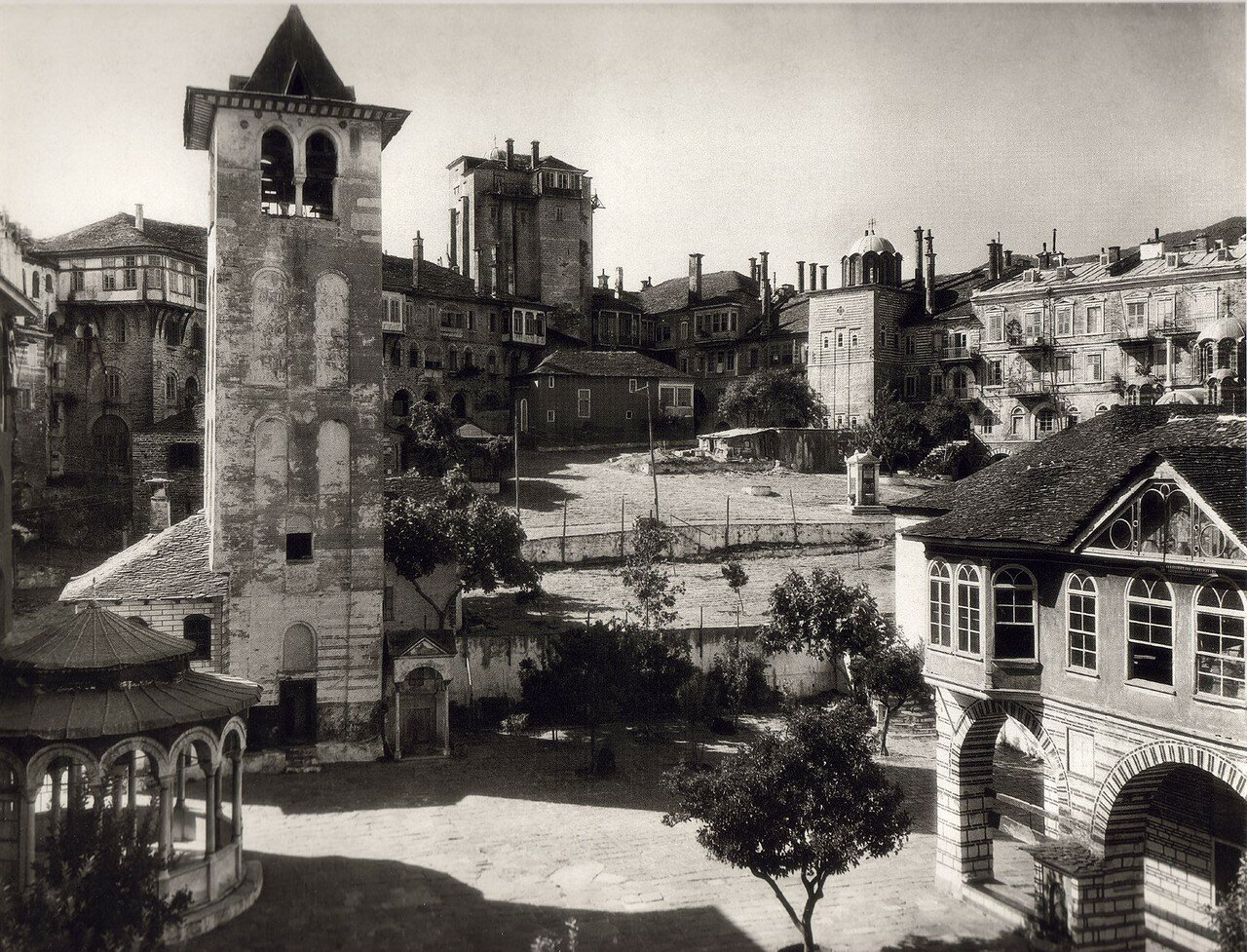 1929. Афон. Ватопедский монастырь