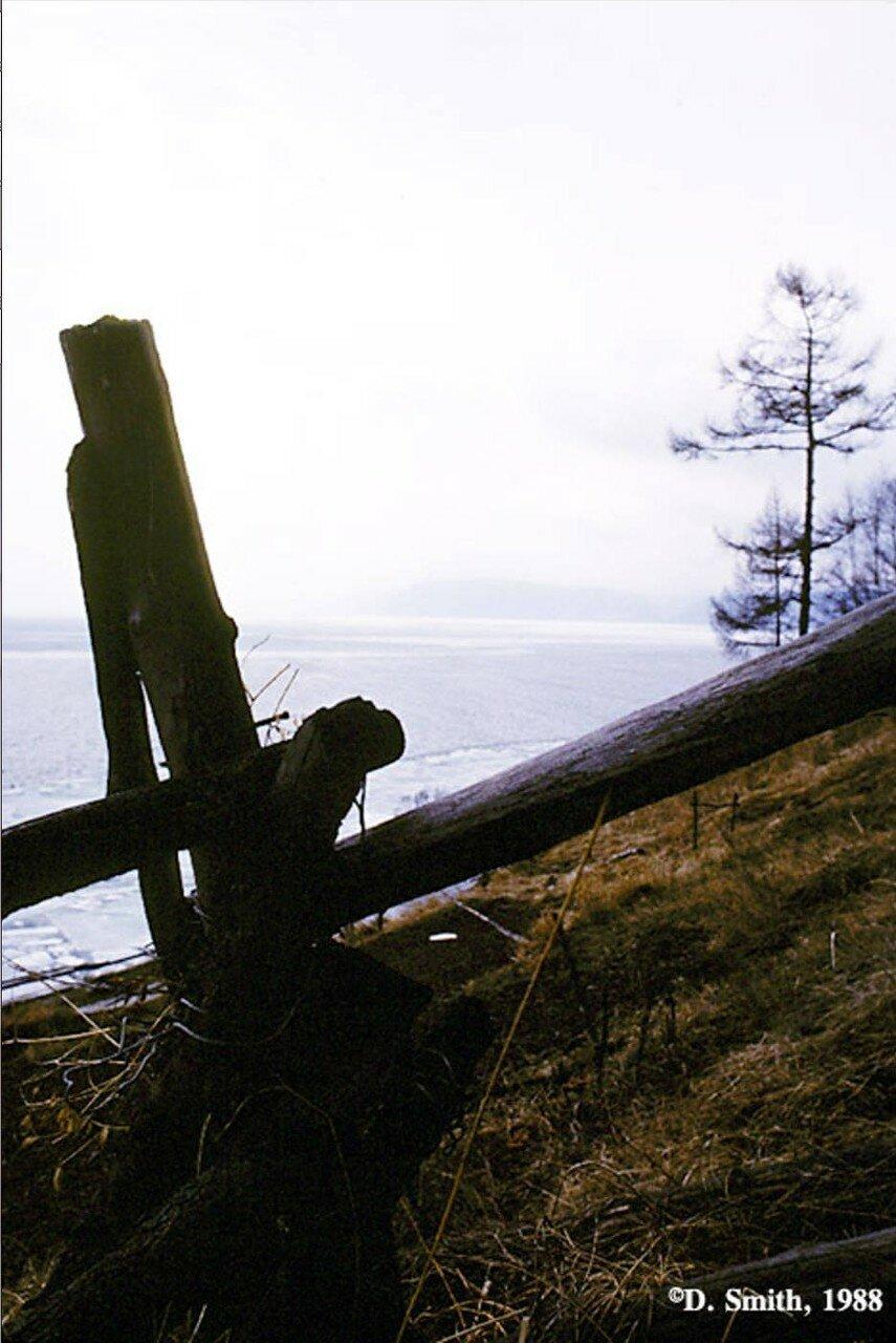 Озеро Байкал в районе Листвянки
