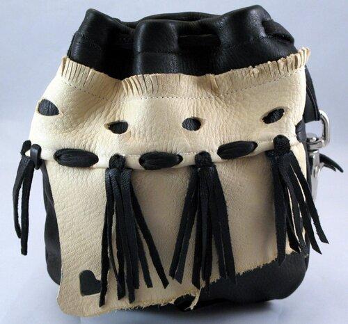 как сшить модную сумку из кожи - Сумки.