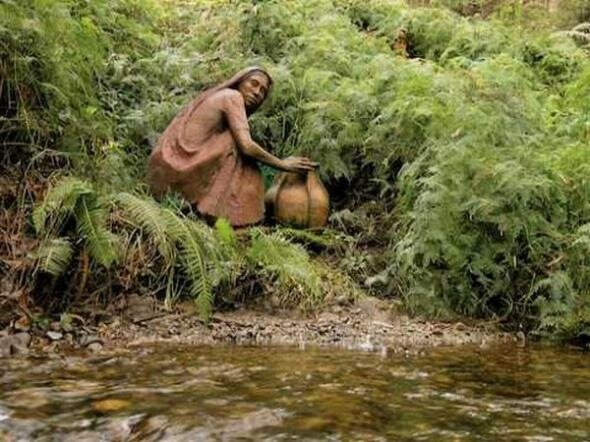 Бруно Торфс (Bruno Torfs), сад скульптур
