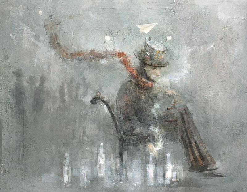 Рисунки художницы под ником smokepaint
